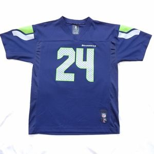 Authentic NFL Marshawn Lynch Seahwaks Youth XL